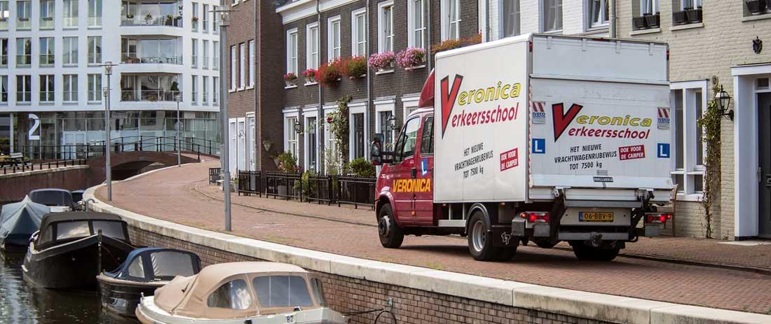 Rijbewijs C1 lichte vrachtauto